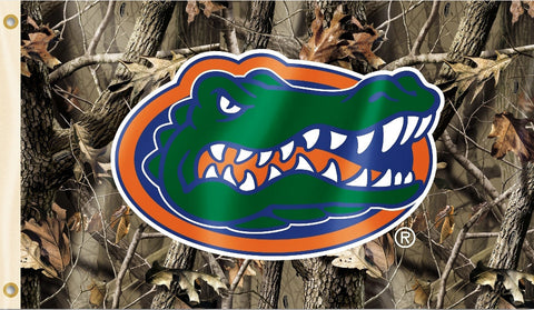 Florida Gators 3' x 5' Flag (Realtree Camo) NCAA