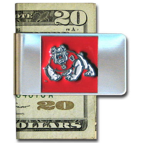 Fresno State Bulldogs Stainless Steel Money Clip (NCAA)