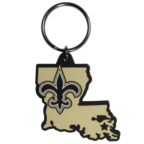 New Orleans Saints Home State Flexi Key Chain NFL