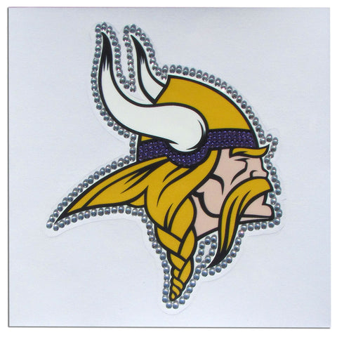 Minnesota Vikings Vinyl Bling Auto Decal (NFL)