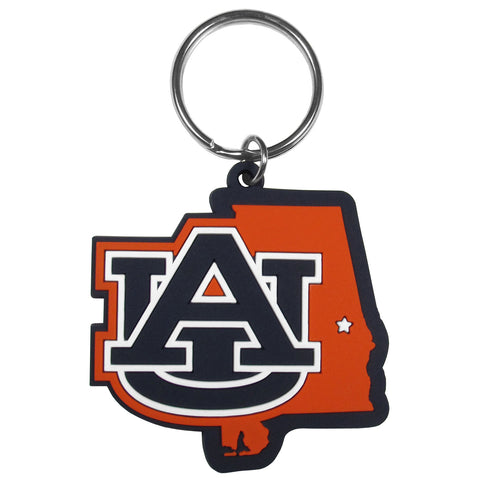 Auburn Tigers Home State Flexi Key Chain NCAA Licensed