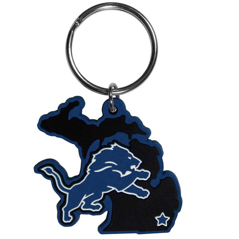 Detroit Lions Home State Flexi Key Chain NFL