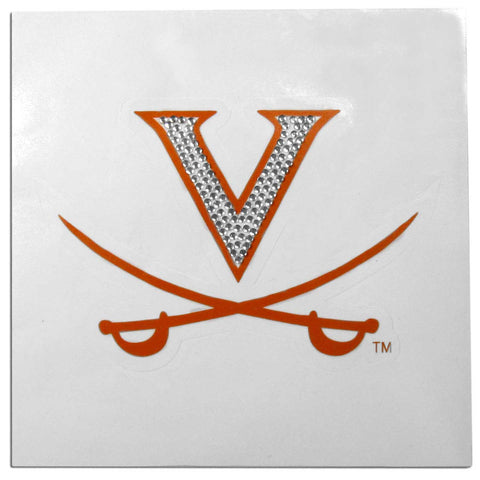 Virginia Cavaliers Vinyl Bling Auto Decal (NCAA)