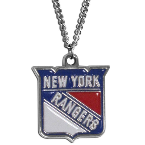 "New York Rangers 22"" Chain Necklace (NHL) LG"