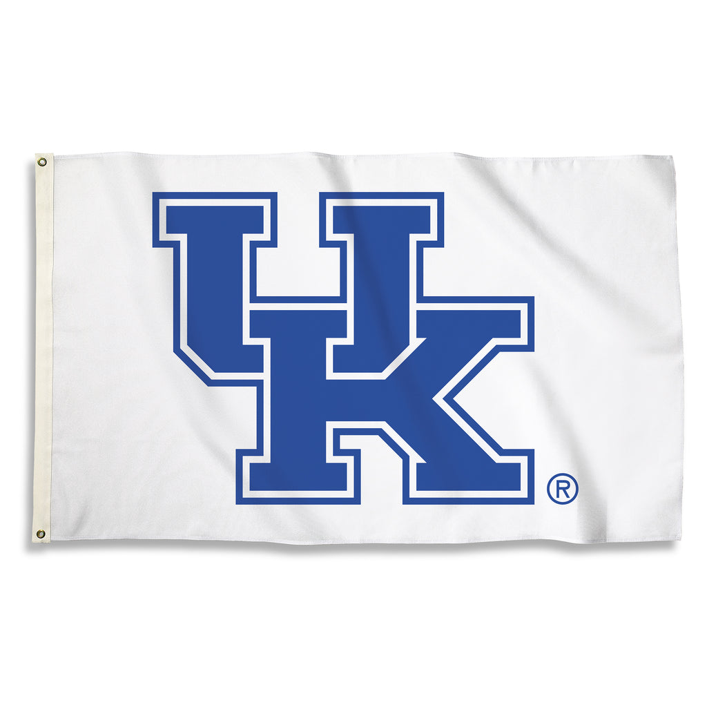 Kentucky Wildcats 3' x 5' Flag (Logo Only on White) NCAA