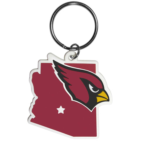 Arizona Cardinals Home State Flexi Key Chain NFL