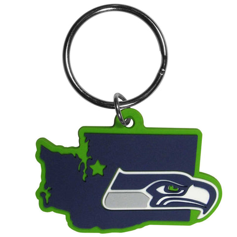 Seattle Seahawks Home State Flexi Key Chain NFL