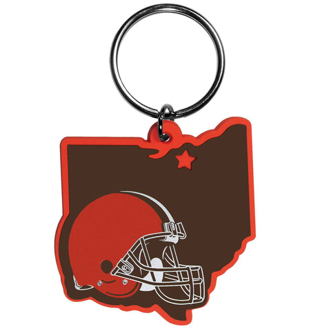 Cleveland Browns Home State Flexi Key Chain NFL