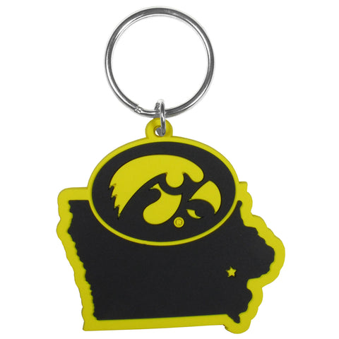 Iowa Hawkeyes Home State Flexi Key Chain NCAA