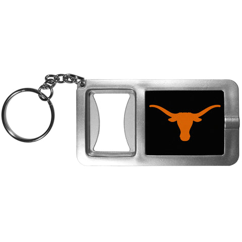 Texas Longhorns Flashlight Key Chain with Bottle Opener NCAA