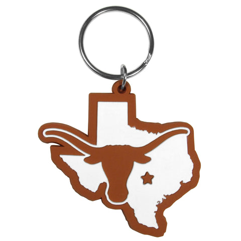 Texas Longhorns  Home State Flexi Key Chain NCAA Licensed