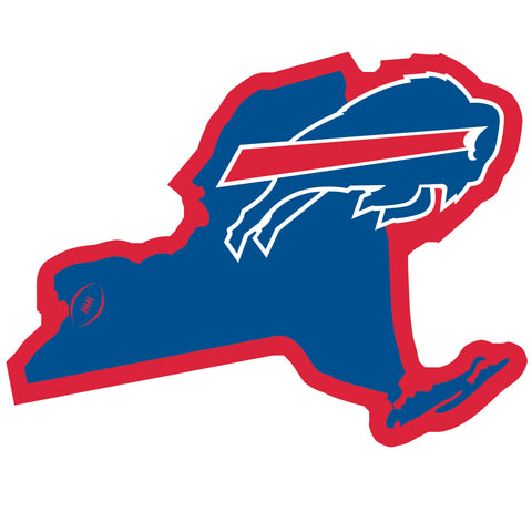 Buffalo Bills Home State Magnet (NFL) New York Shape