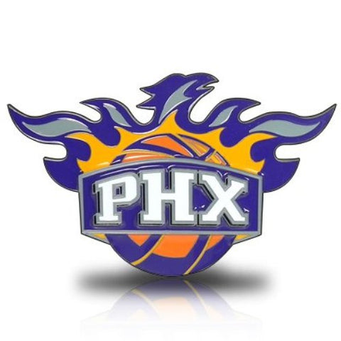 Phoenix Suns 3-D Metal Hitch Cover NBA Licensed