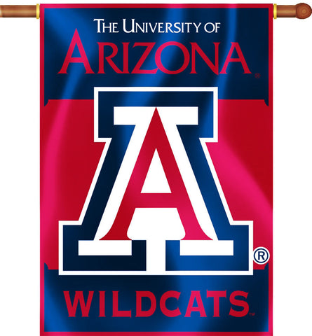 "Arizona Wildcats 28"" x 40"" Two Sided House Banner NCAA"