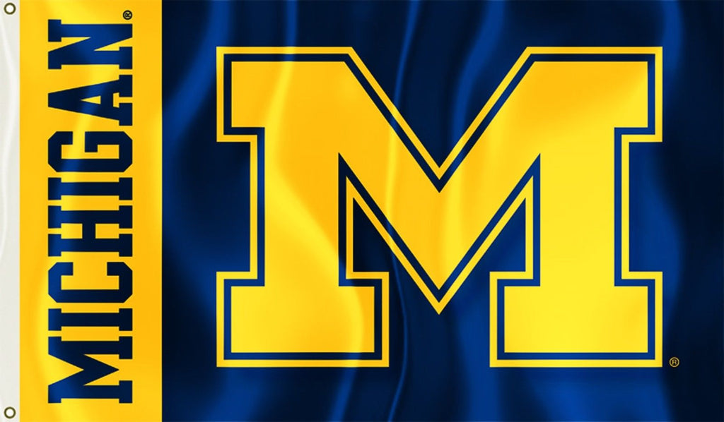 Michigan Wolverines 3' x 5' Flag (Two Sided) NCAA