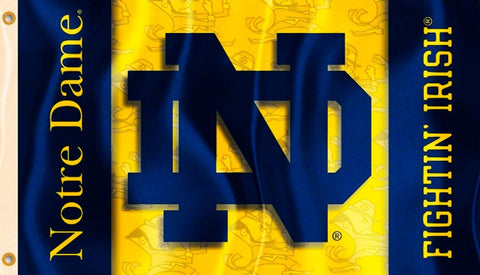 Notre Dame Fighting Irish 3' x 5' Flag (Two Sided) NCAA