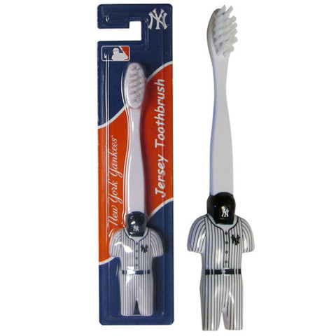 New York Yankees Soft Toothbrush MLB Licensed Baseball