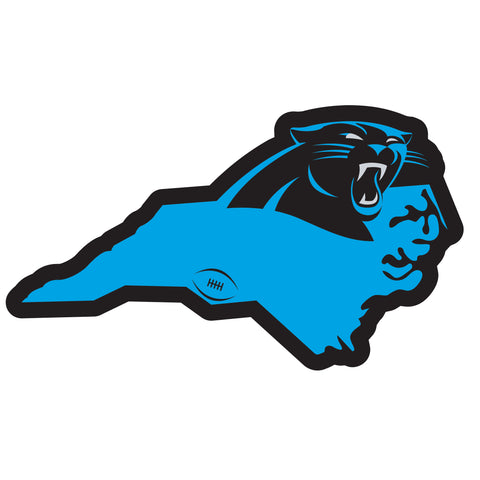 Carolina Panthers Home State Magnet (NFL) North Carolina Shape