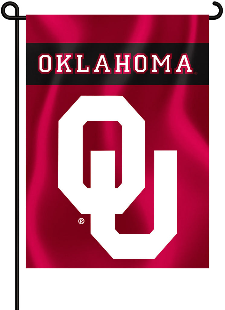 "Oklahoma Sooners 13"" x 18"" Two Sided Garden Flag NCAA"