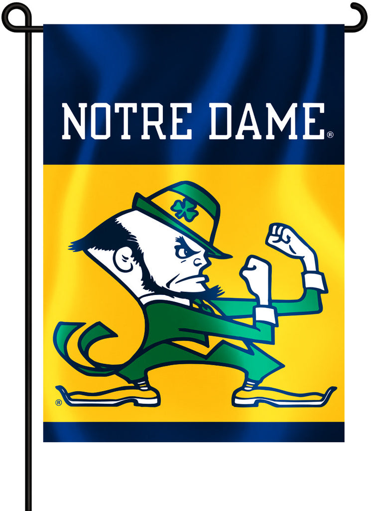 "Notre Dame Fighting Irish 13"" x 18"" Two Sided Garden Flag NCAA"