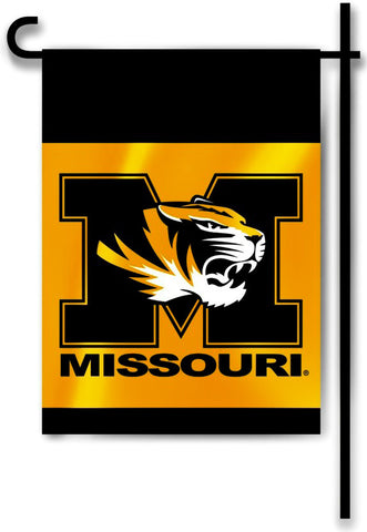 "Missouri Tigers 13"" x 18"" Two Sided Garden Flag NCAA"