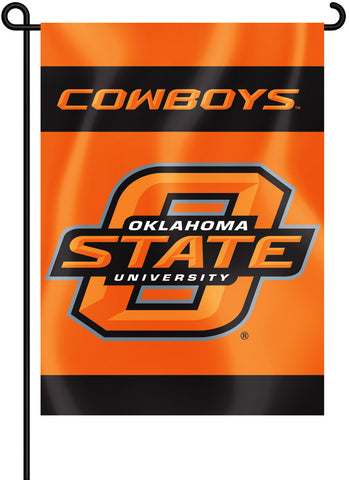 "Oklahoma State Cowboys 13"" x 18"" Two Sided Garden Flag NCAA"