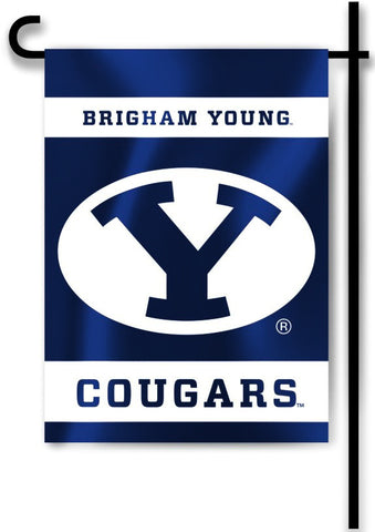 "BYU Cougars 13"" x 18"" Two Sided Garden Flag NCAA"