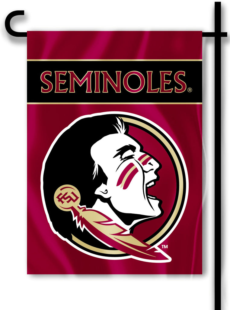 "Florida State Seminoles 13"" x 18"" Two Sided Garden Flag NCAA"