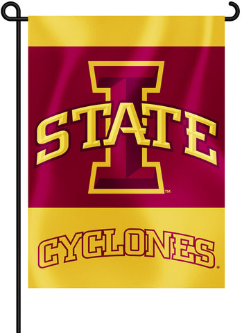 "Iowa State Cyclones 13"" x 18"" Two Sided Garden Flag (NCAA)"