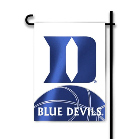 "Duke Blue Devils 13"" x 18"" Two Sided Garden Flag (Basketball) NCAA"