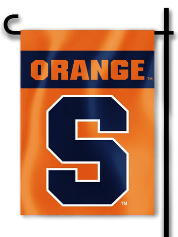 "Syracuse Orange 13"" x 18"" Two Sided Garden Flag NCAA"
