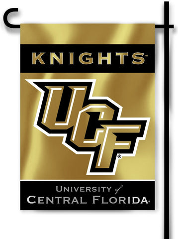 "Central Florida Knights 13"" x 18"" Two Sided Garden Flag (UCF) NCAA"