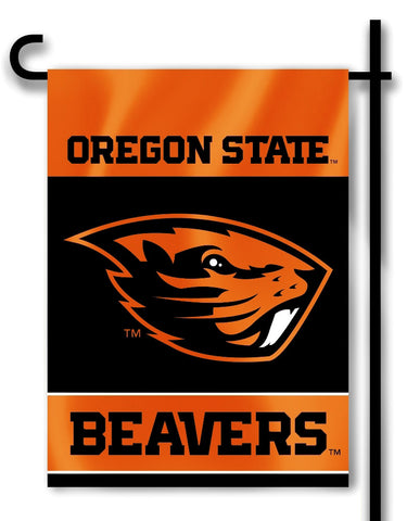"Oregon State Beavers 13"" x 18"" Two Sided Garden Flag NCAA"
