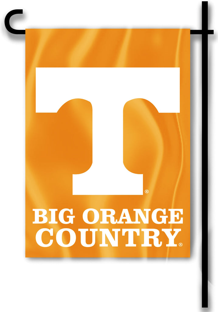 "Tennessee Volunteers 13"" x 18"" Two Sided Garden Flag (Big Orange Country) NCAA"