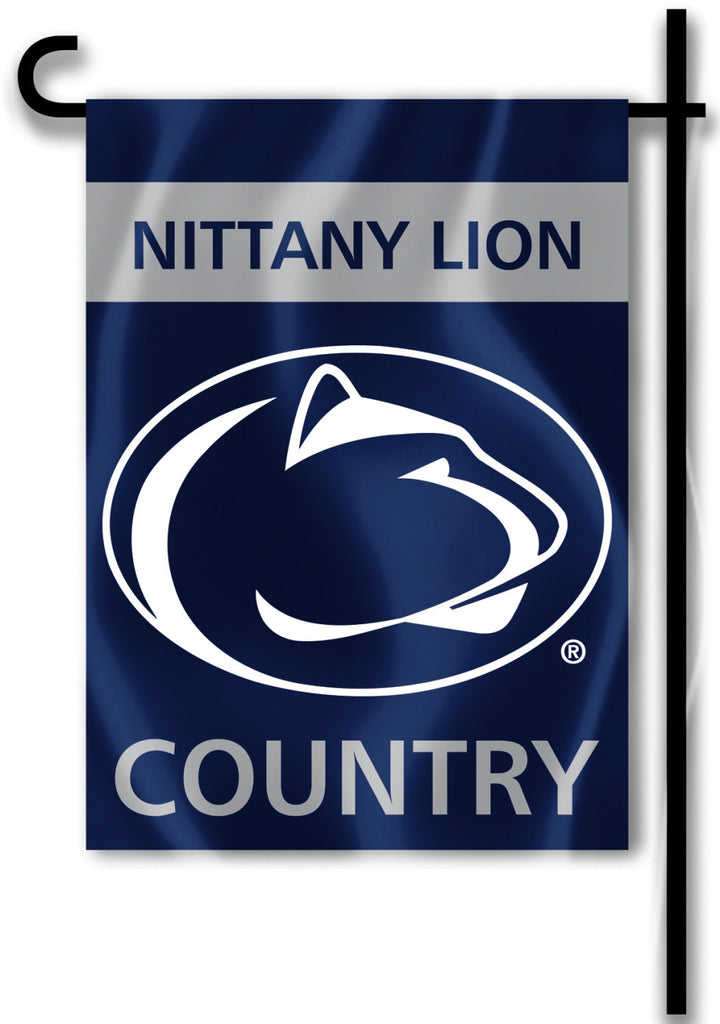 "Penn State Nittany Lions 13"" x 18"" Two Sided Garden Flag (Country) NCAA"