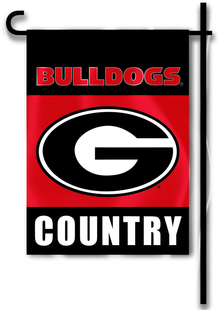 "Georgia Bulldogs 13"" x 18"" Two Sided Garden Flag (Bulldogs Country) NCAA"
