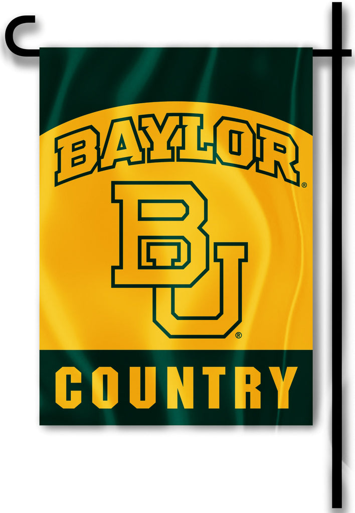 "Baylor Bears 13"" x 18"" Two Sided Garden Flag (Baylor Country) NCAA"