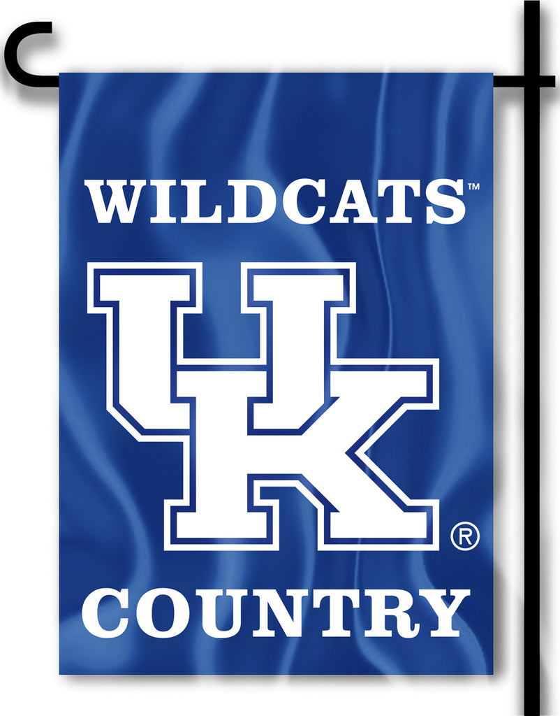 "Kentucky Wildcats 13"" x 18"" Two Sided Garden Flag (Wildcats Country) NCAA"