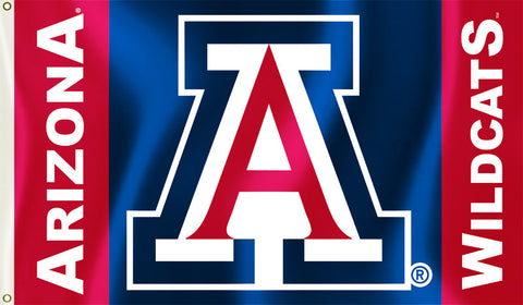 Arizona Wildcats 3' x 5' Flag (Logo with Wordmark) NCAA