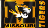 Missouri Tigers 3' x 5' Flag (Logo with Wordmark) NCAA