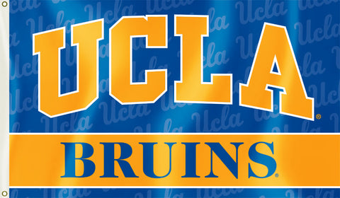 UCLA Bruins 3' x 5' Flag (Logo with Wordmark) NCAA