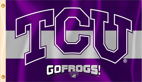 TCU Horned Frogs 3' x 5' Flag (Go Frogs!) NCAA