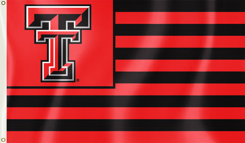 Texas Tech Red Raiders 3' x 5' Flag (Stripes) NCAA