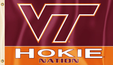 Virginia Tech Hokies 3' x 5' Flag (Hokie Nation) NCAA