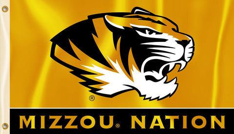 Missouri Tigers 3' x 5' Flag (Mizzou Nation) NCAA