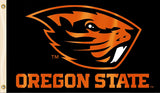 Oregon State Beavers 3' x 5' Flag (Logo with Wordmark) NCAA
