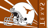 Texas Longhorns 3' x 5' Flag (Football Helmet) NCAA
