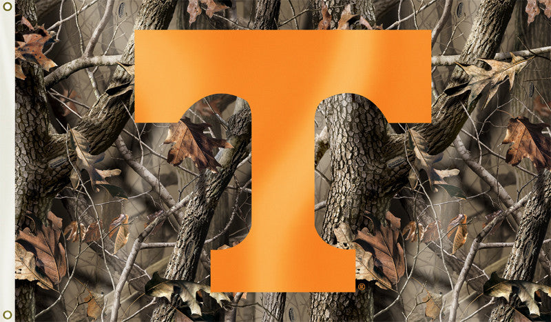 Tennessee Volunteers 3' x 5' Flag (Realtree Camo) NCAA