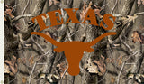 Texas Longhorns 3' x 5' Flag (Realtree Camo) NCAA