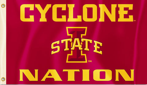 Iowa State Cyclones 3' x 5' Flag (Cyclone Nation) NCAA